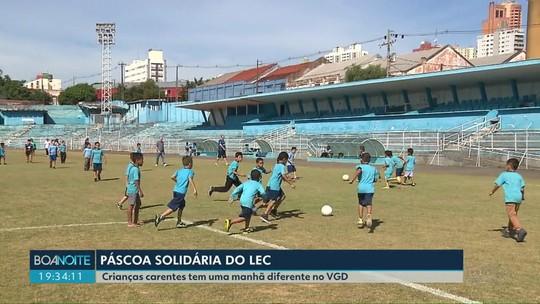 Crianças carentes tem um dia diferente no VGD em Londrina