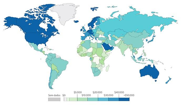 O crescimento do PIB acelerou nos países desenvolvidos (Foto: Fernanda Ferrari/Luiza Veroneze)