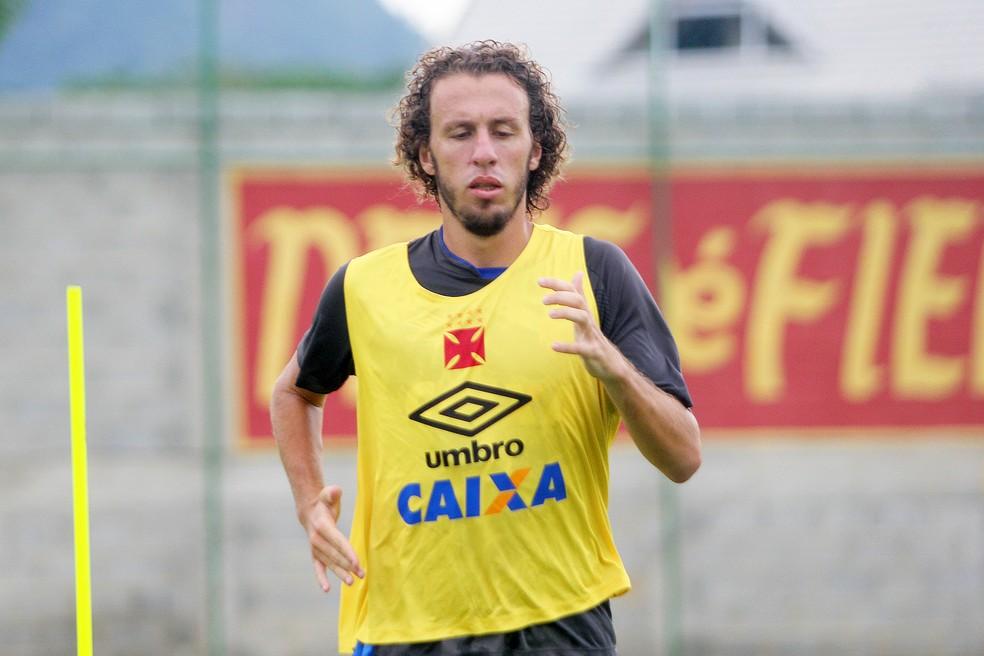 Rafael Galhardo segue como jogador do Vasco — Foto: Paulo Fernandes/Vasco.com.br