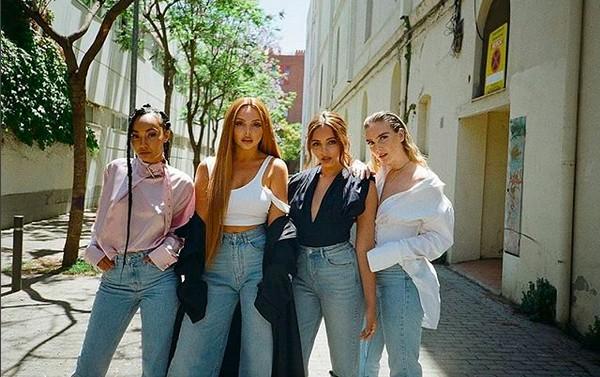 As quatro integrantes da girl band britânica Little Mix (Foto: Instagram)