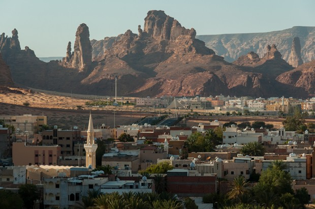 Overlooking the city of Al Ula, Saudi Arabia. (Foto: Getty Images/iStockphoto)