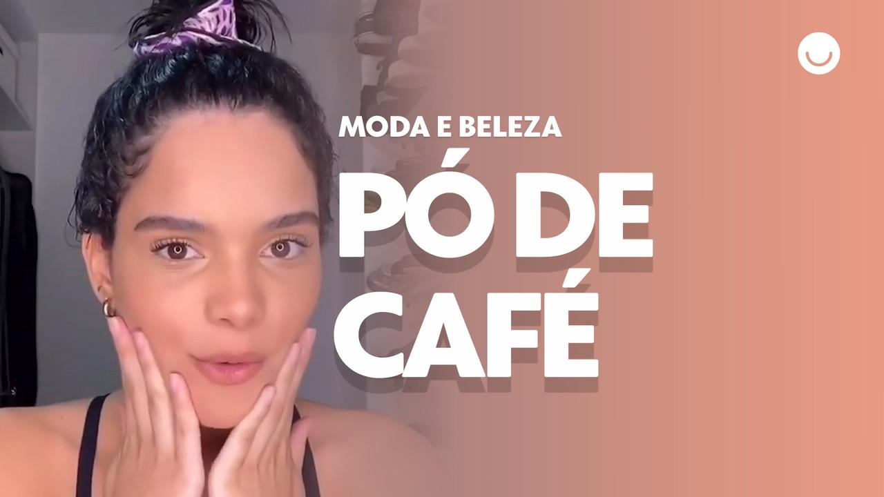 Carol Macedo mostra receita caseira com pó de café para hidratar os cabelos