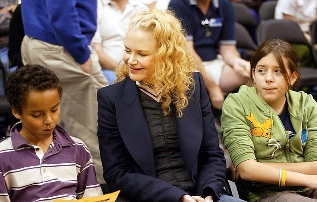 Nicole Kidman e os filhos em 2004 (Foto: Getty Images)