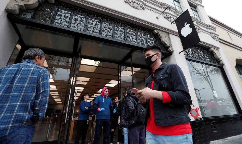 Apple vai fechar todas as lojas fora da China por pandemia de ...