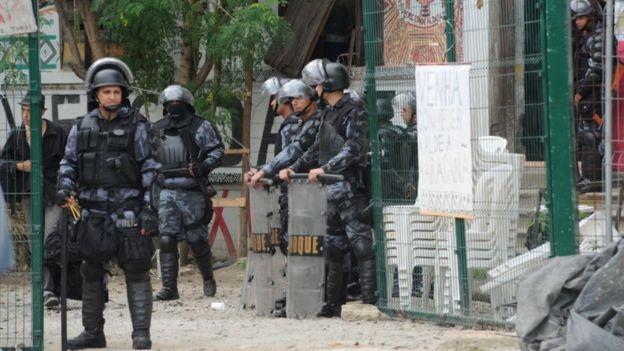 O 'excludente de ilicitude' defendido por Bolsonaro para policiais já existe hoje no Código Penal (Foto: Agência Brasil via BBC News Brasil)