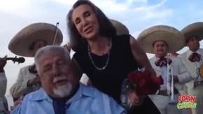 Florinda Meza e Rubén Aguirre (Foto: Reprodução/ YouTube)