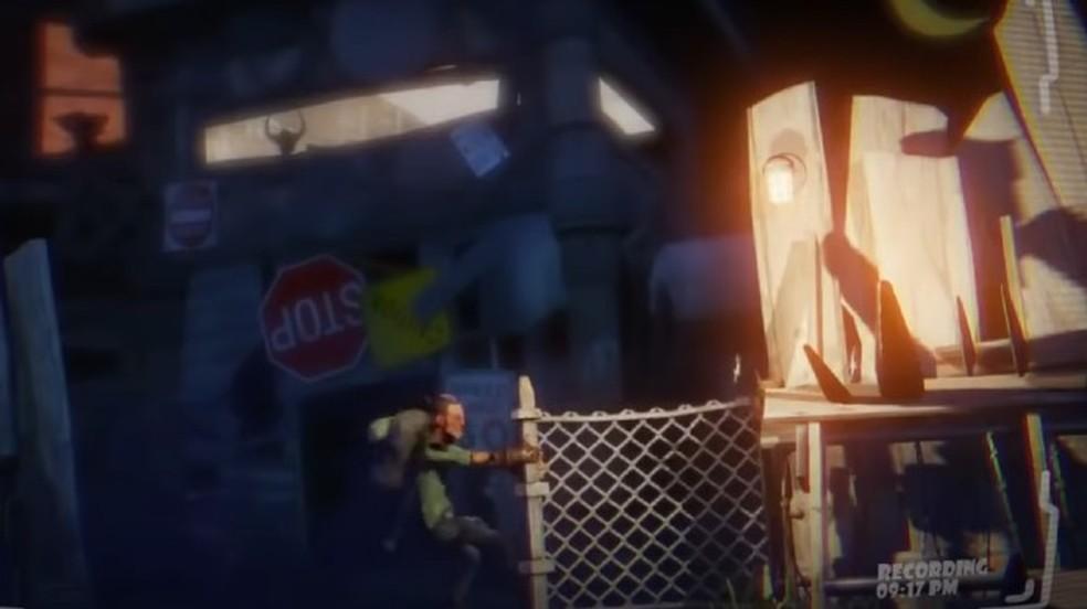 O primeiro trailer de Fortnite, revelado durante a VGA de 2011 — Foto: Reprodução/VGA