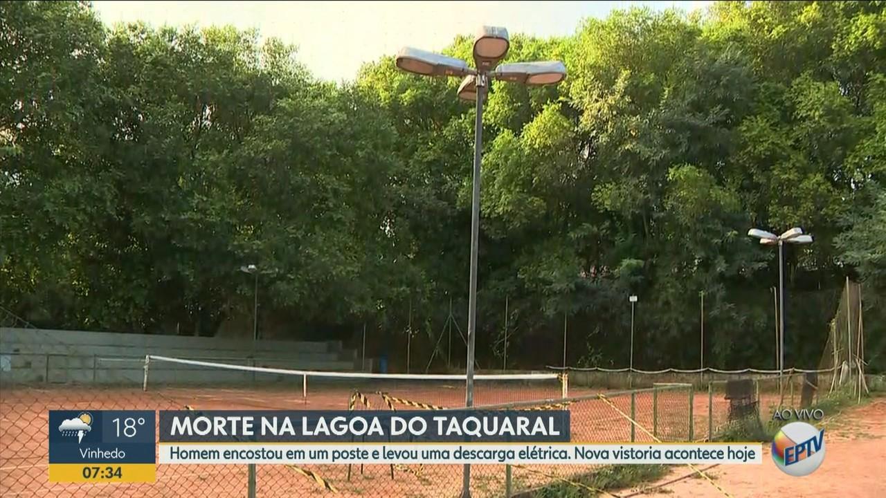 Campinas vai vistoriar área na Lagoa do Taquaral após morte por choque