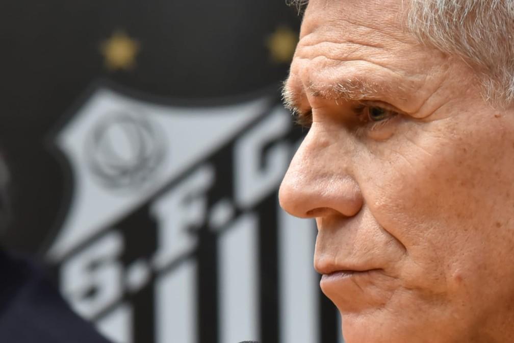 Paulo Autuori deixará o Santos em 2020 — Foto: Ivan Storti/Santos FC