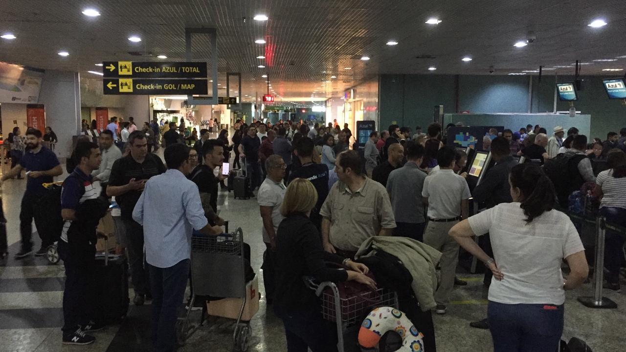 Neblina que atinge Manaus afeta voos no aeroporto Eduardo Gomes - Notícias - Plantão Diário