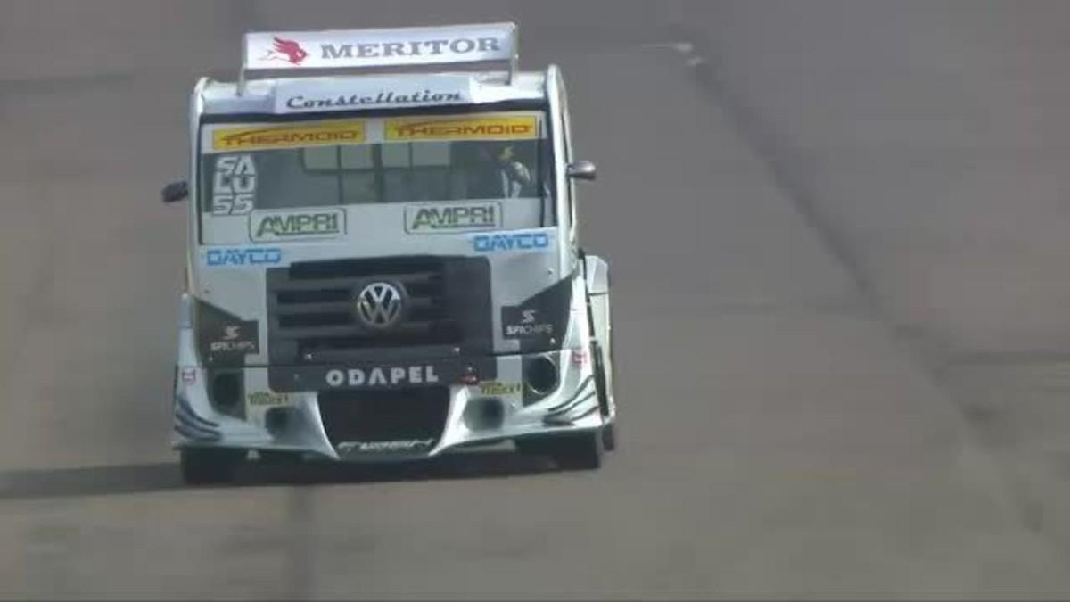 Na volta às pistas, Copa Truck é marcada por acidente em treino – globoesporte.com