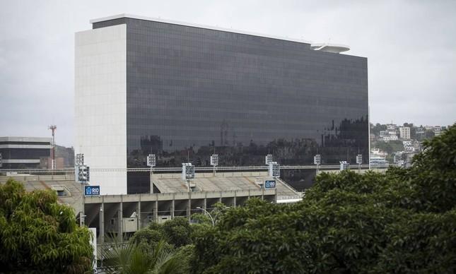 Prédio projetado por Oscar Niemeyer, ao lado do Sambódromo, na Cidade Nova
