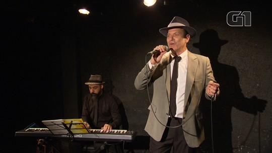 Aloísio de Abreu faz tributo a Frank Sinatra na Casa de Cultura Laura Alvim