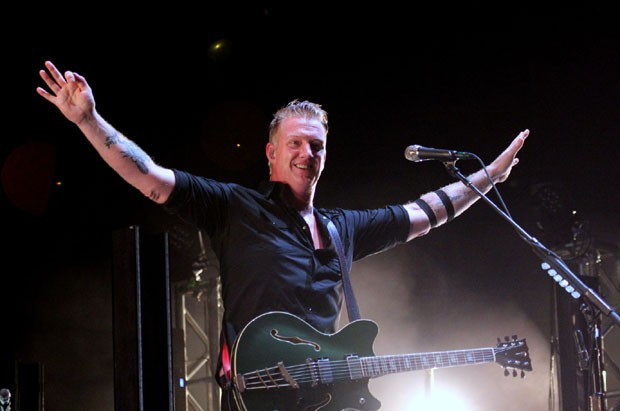 Josh Homme, do Queens of the Stone Age (Foto: AgNews / Wallace Barbosa)