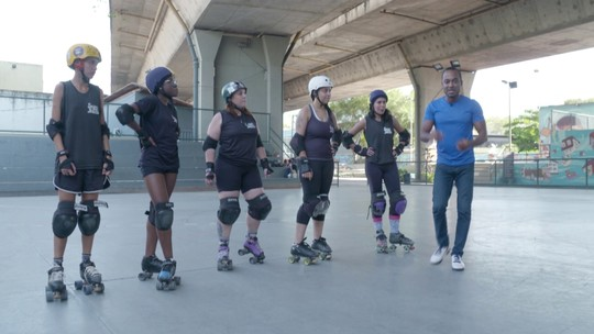 Hoje é dia de patinar: Roller Derby