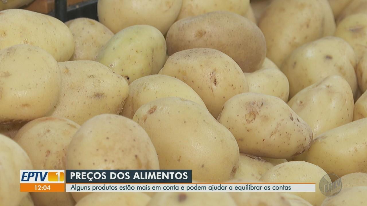 Preço do quilo da batata cai nas últimas semanas