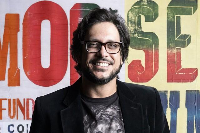 Lucio Mauro Filho (Foto: Ramon Vasconcelos/TV Globo)