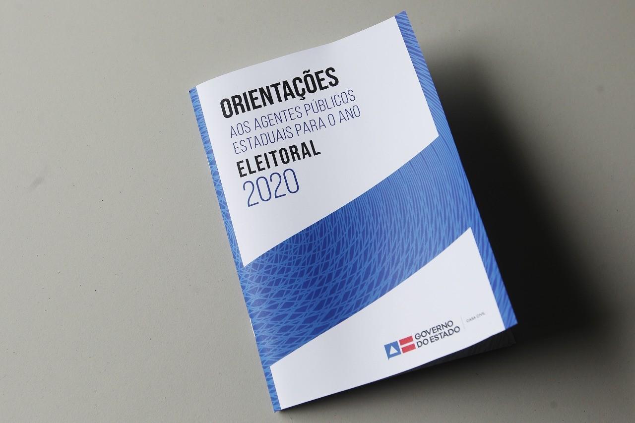Governo da Bahia lança cartilha para orientar ação dos agentes públicos em ano eleitoral