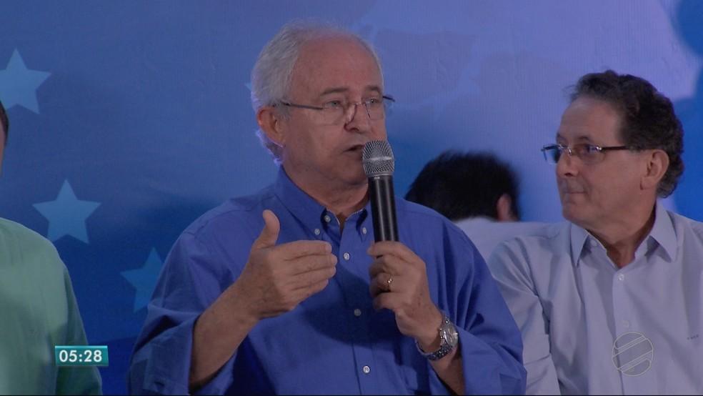 Adilton Sachetti (PRB), candidato ao Senado (Foto: TVCA/ Reprodução)
