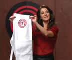 Ana Paula Padrão no primeiro episódio de 'MasterChef' | Band