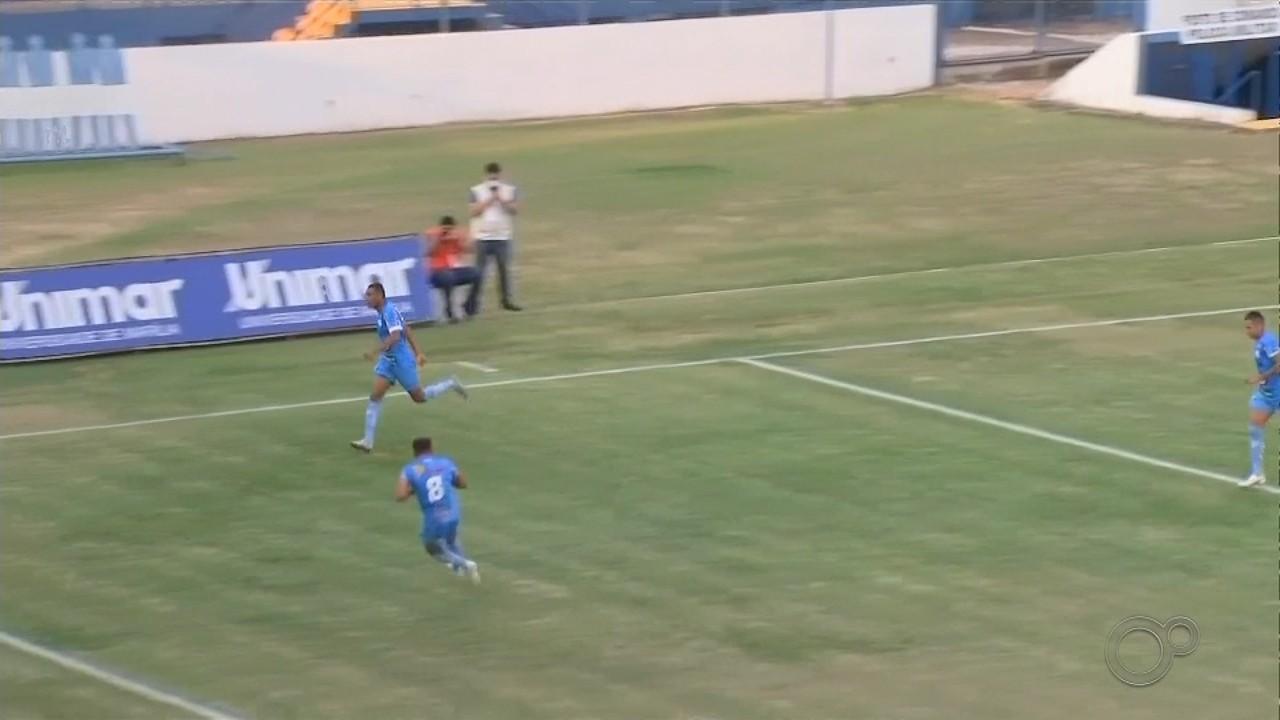 Marília e Desportivo Brasil ficam no empate e fora do G-8 da Série A3