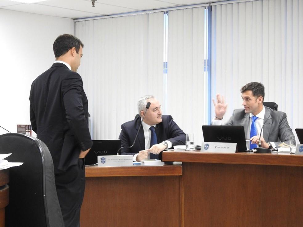 Michel Asseff Filho defendeu o Flamengo no STJD  (Foto: Fred Gomes)