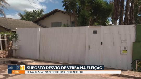 Polícia Federal faz buscas na sede do PROS