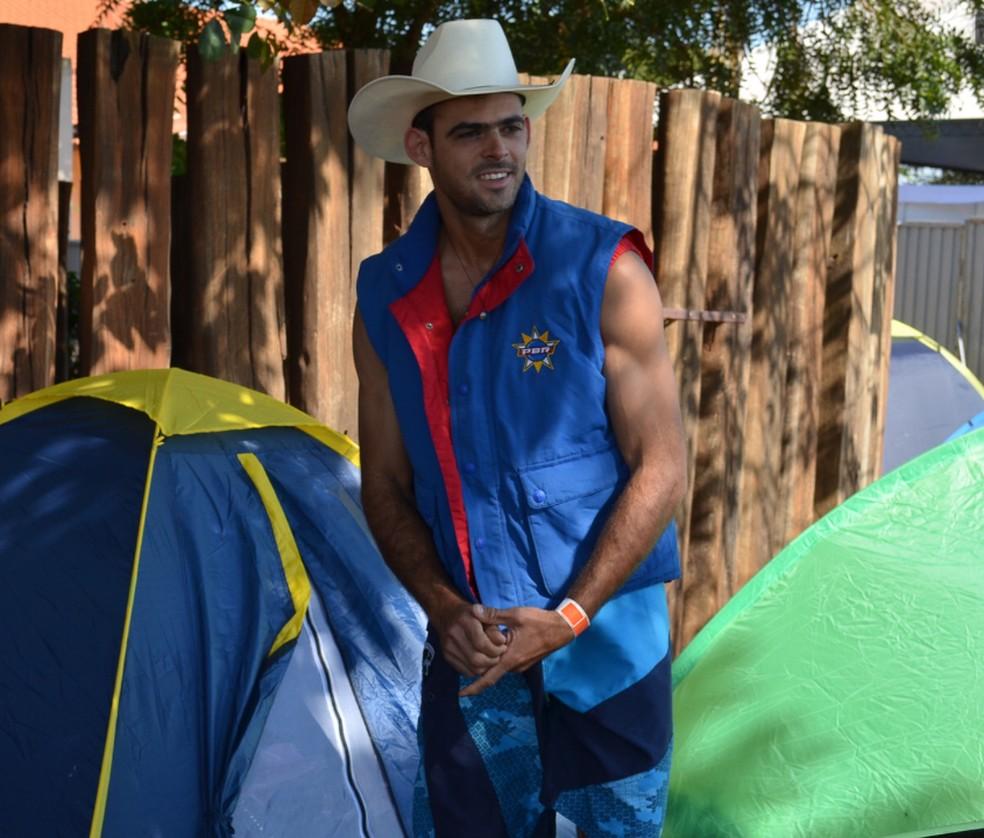 Gabriel Melhado morreu em sua propriedade rural após sofrer acidente de cavalo. (Foto: Felipe Turioni/G1)