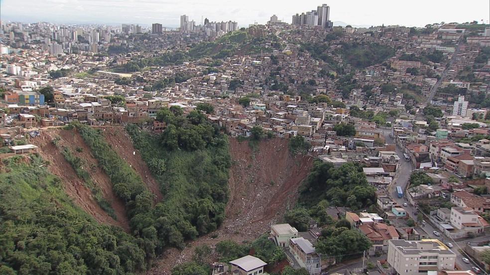 BH está em risco geológico e tem alerta para mais chuva nos próximos 3 dias — Foto: Reprodução/TV Globo