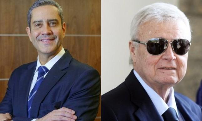 Rogério Caboclo e Ricardo Teixeira