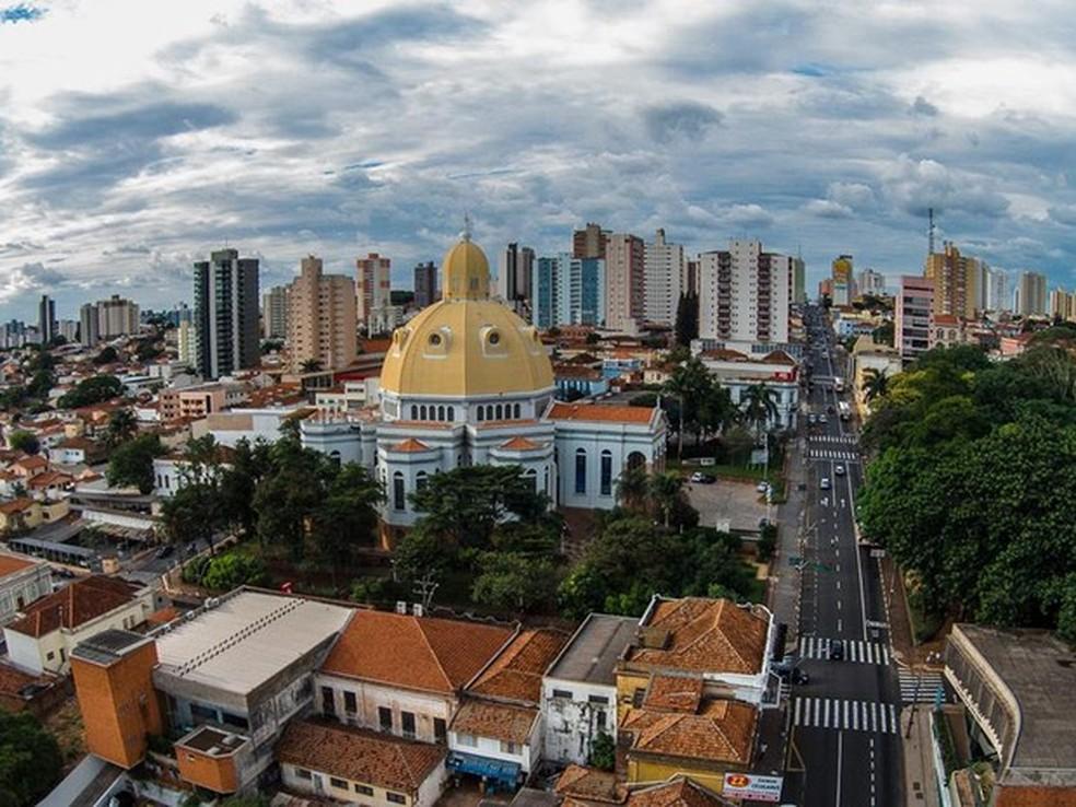 São Carlos é a cidade da região com maior número de habitantes (Foto:  O-Drone)