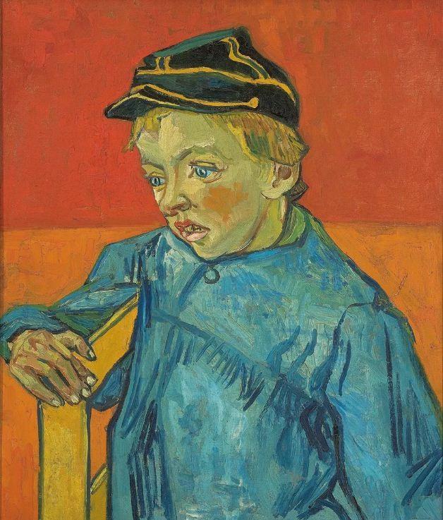 O escolar (O filho do carteiro - Gamin au Képi), de Vincent van Gogh - 1888 (Foto: MASP)