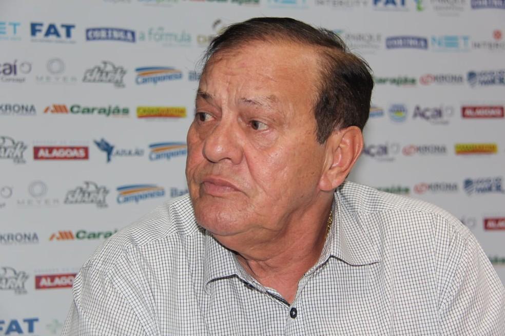 Rafael Tenório, presidente do CSA — Foto: Arte - GloboEsporte.com