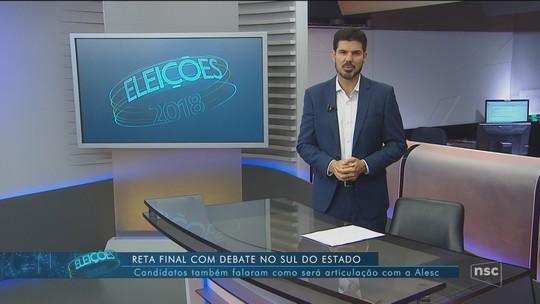 Veja a agenda dos candidatos ao governo de SC nesta terça-feira (23)