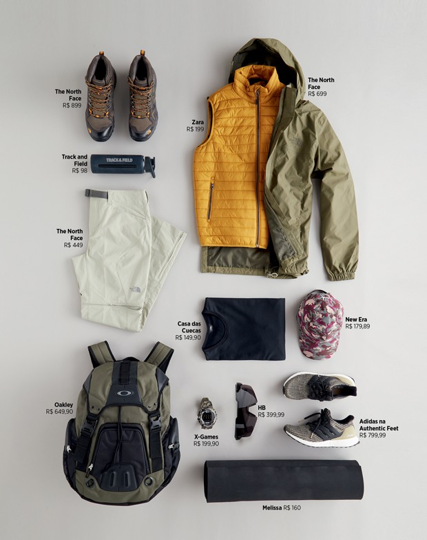 A mochila ideal para o hiking (Foto: Deborah Maxx)