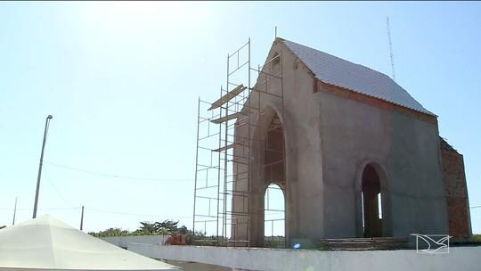 Igreja é erguida no local da missa de João Paulo II em São Luís