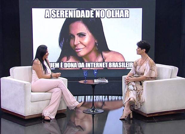 Gretchen e Mariana Godoy (Foto: Divulgação/RedeTV!)
