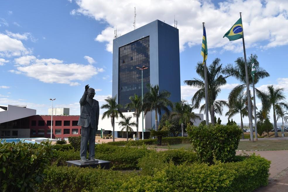Paço Municipal de Goiânia, Goiás — Foto: Vanessa Chaves/G1