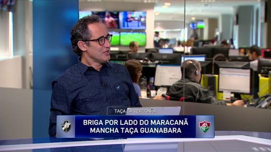 """Barreto critica dirigentes após confusão no clássico: """"Desrespeito ao torcedor"""""""