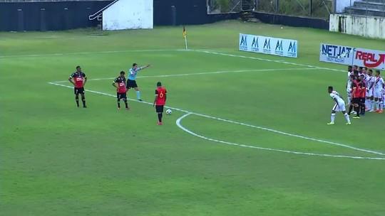 Veja os gols de Globo FC 2 x 0 Ferroviário; goleiro Rafael defende pênalti