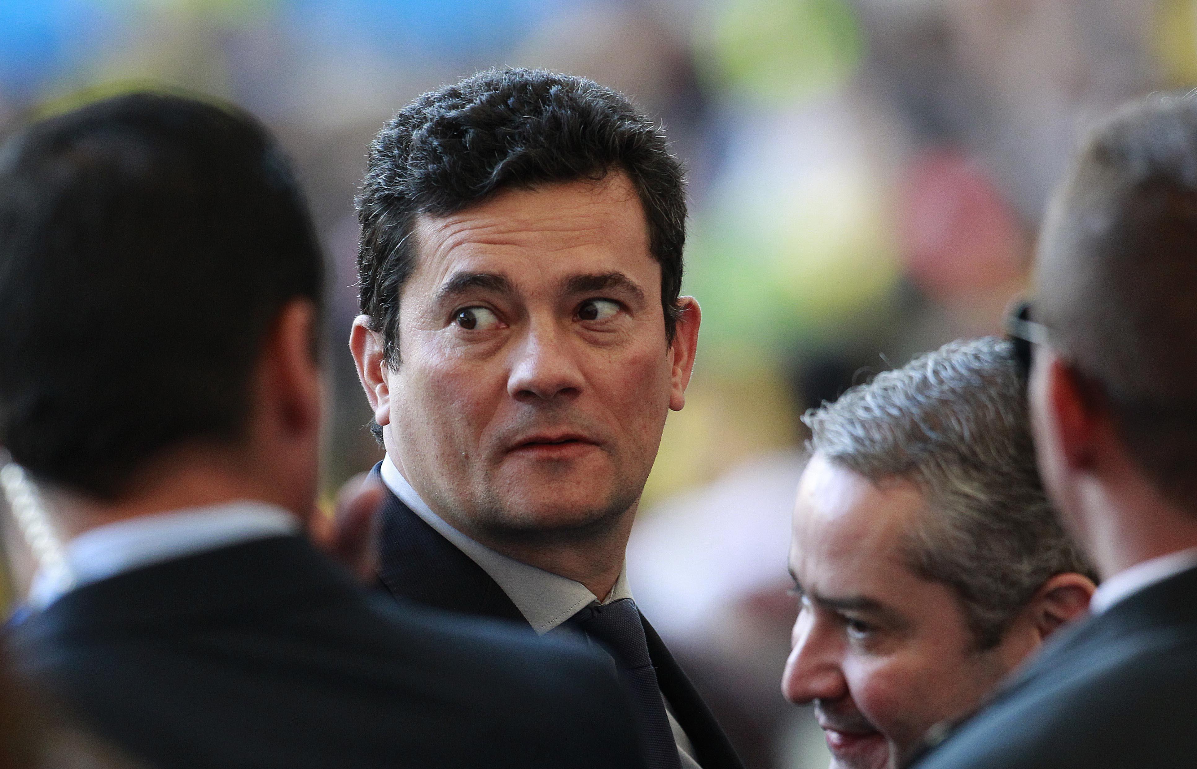 O ministro da Justiça Sergio Moro