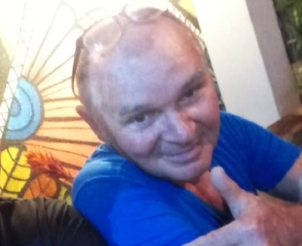 Cícero Alves de Lima, de 70 anos, foi morto durante assalto na Zona Norte de Natal — Foto: Cedida