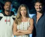 Ramon (David Júnior), Paloma (Grazi Massafera) e Marcos (Romulo Estrela) | TV Globo