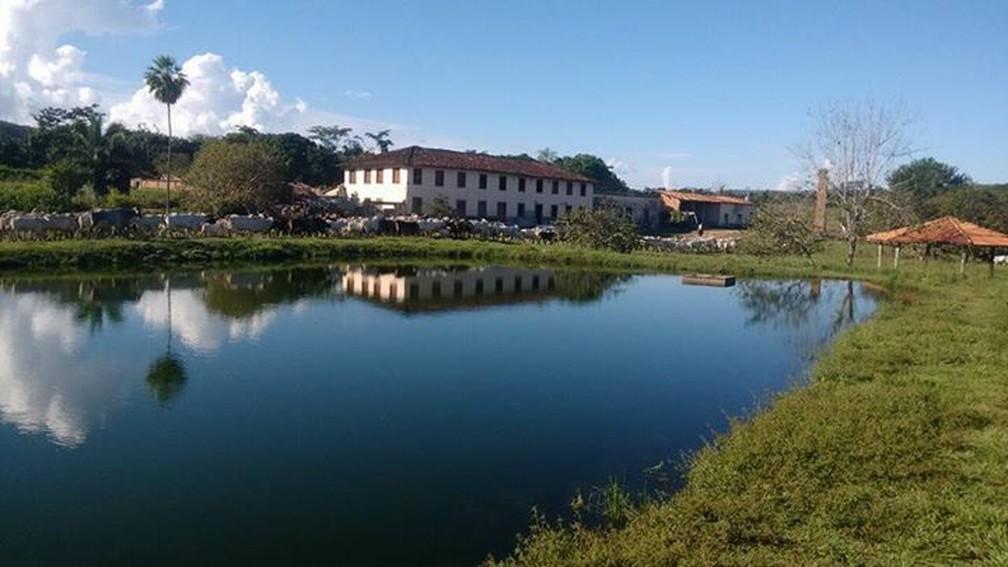Fazenda Jacobina é um dos pontos históricos da região — Foto: Divulgação