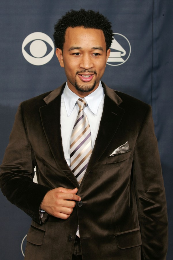 John Legend na cerimônia de 2005 (Foto: Getty Images)