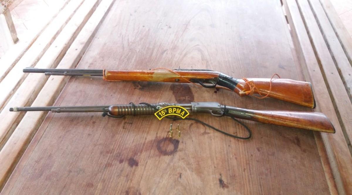 Indígena é preso ao ser flagrado com rifles e munições em rodovia de MS