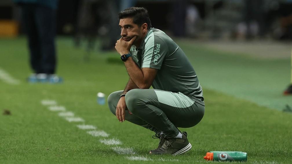 Abel Ferreira, técnico do Palmeiras — Foto: Cesar Greco / Palmeiras
