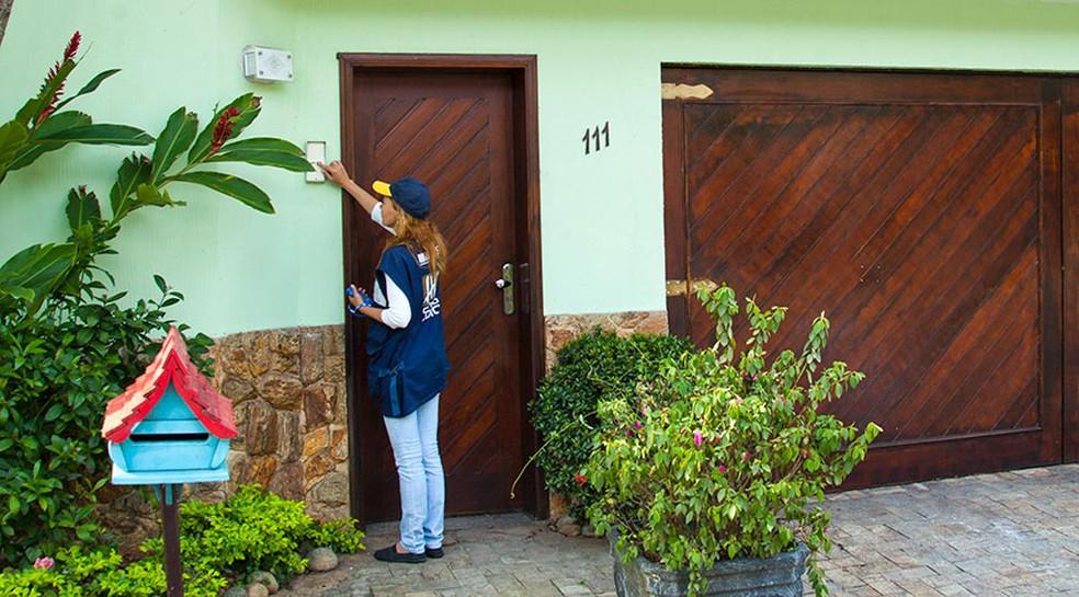 IBGE abre concursos para mais de 208 mil vagas para o Censo 2020 — Foto: Licia Rubinstein/Agência IBGE Notícias