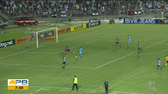Análise: Botafogo-PB não encontra espaço pelo meio, sofre com alas e leva golpes em contra-ataques
