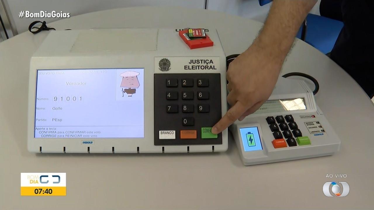 TRE-GO começa a incluir dados dos candidatos nas urnas eletrônicas